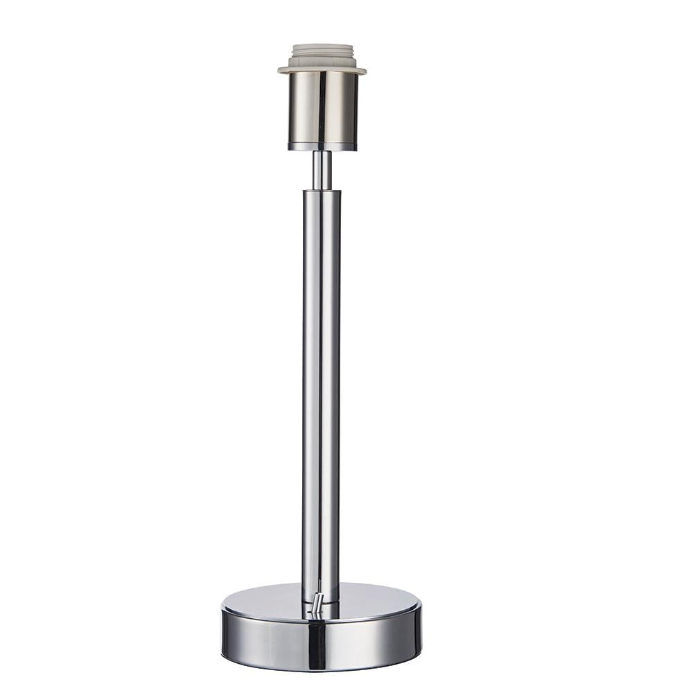 Tarbet Polished Chrome USB Table Lamp - ID 9584