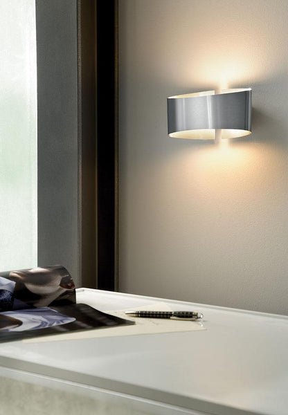 Voilà Wall Sconce in Stainless Steel