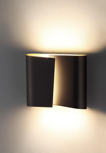 Filia L LED Wall Sconce in Hand-Brushed Old Bronze
