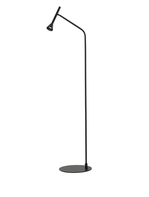 NAV Black Steel & Aluminium Cone Head Floor Lamp - ID 10142
