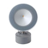 Adjustable outdoor injected aluminium spotlight in grey - ID 8173
