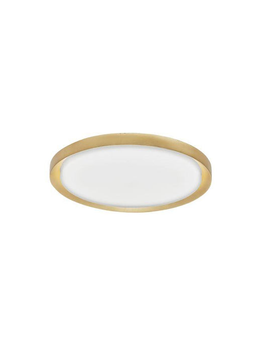 TRO Diffused Gold Leaf Aluminium Medium Ceiling Light - ID 10598