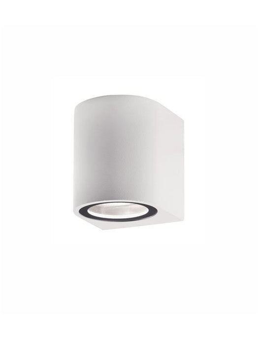 NER Compact Round Edge White Outdoor Wall Down Light - ID 10824