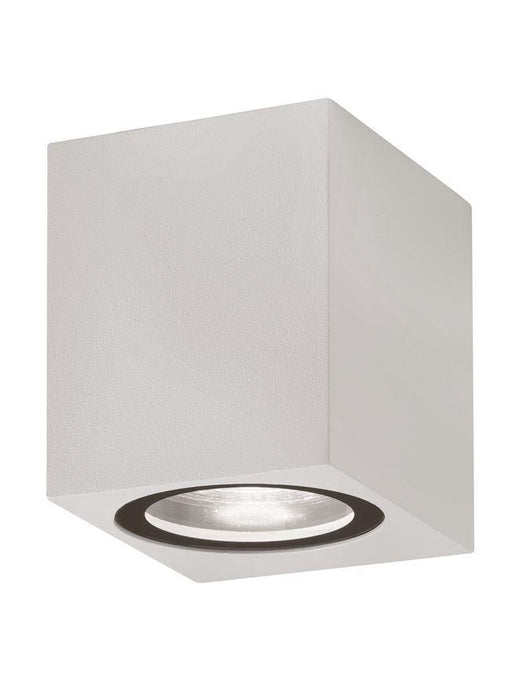 NER Compact Squared Edge White Outdoor Wall Down Light - ID 10825