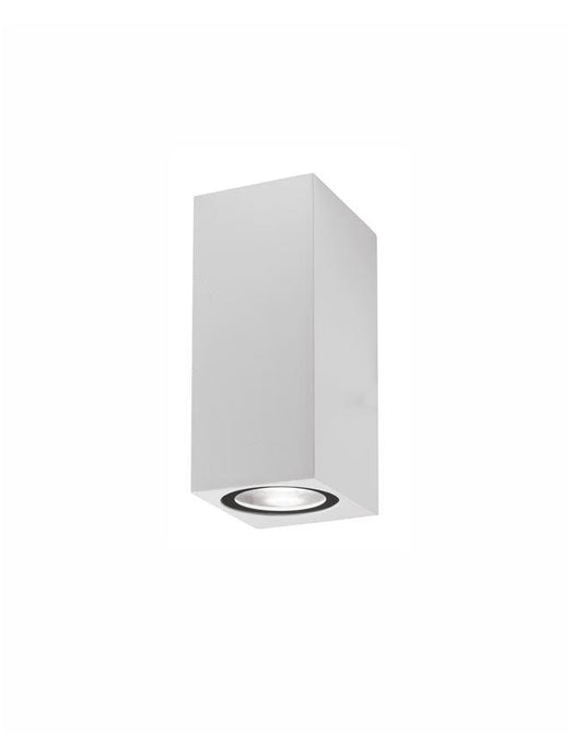 NER Compact Squared Edge White Outdoor Wall Up / Down Light - ID 10823