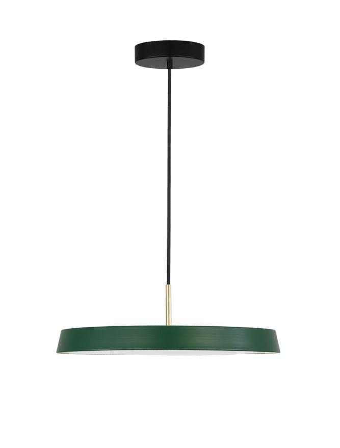 VET Matt Green Aluminium & Acrylic Single Pendant - ID 9996