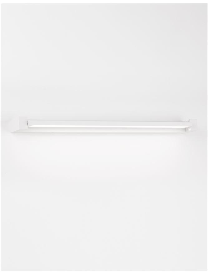 LIN Sandy White Aluminium & Acrylic Rotating Long Linear Wall Light - ID 10358