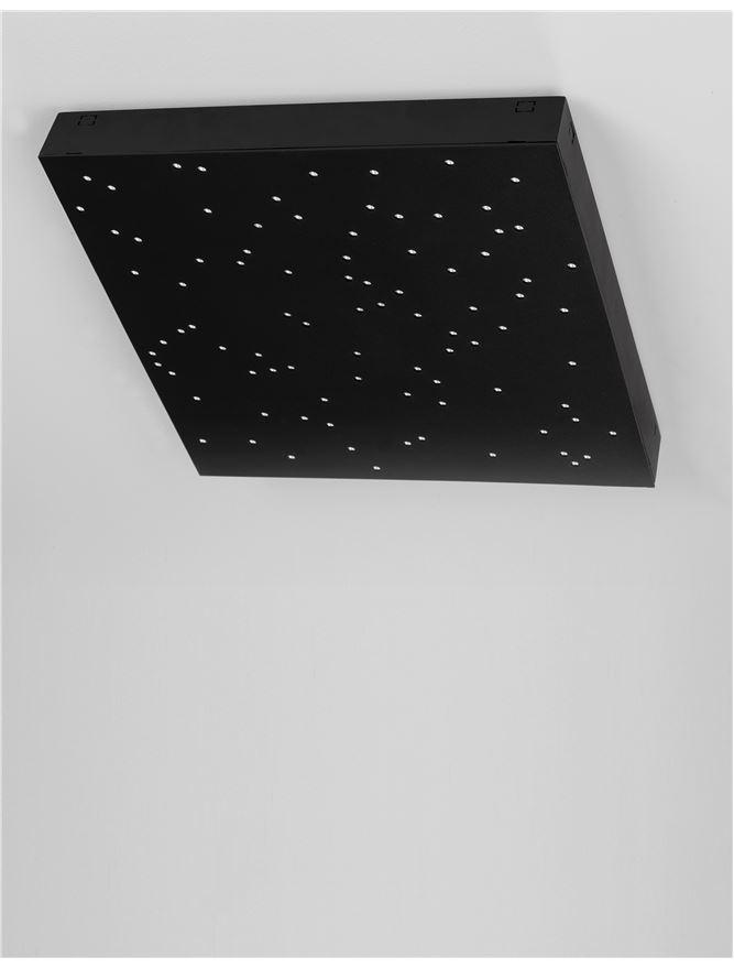 CIE Black ABS Starry Night Remote Control Modular Ceiling Tile - ID 10580