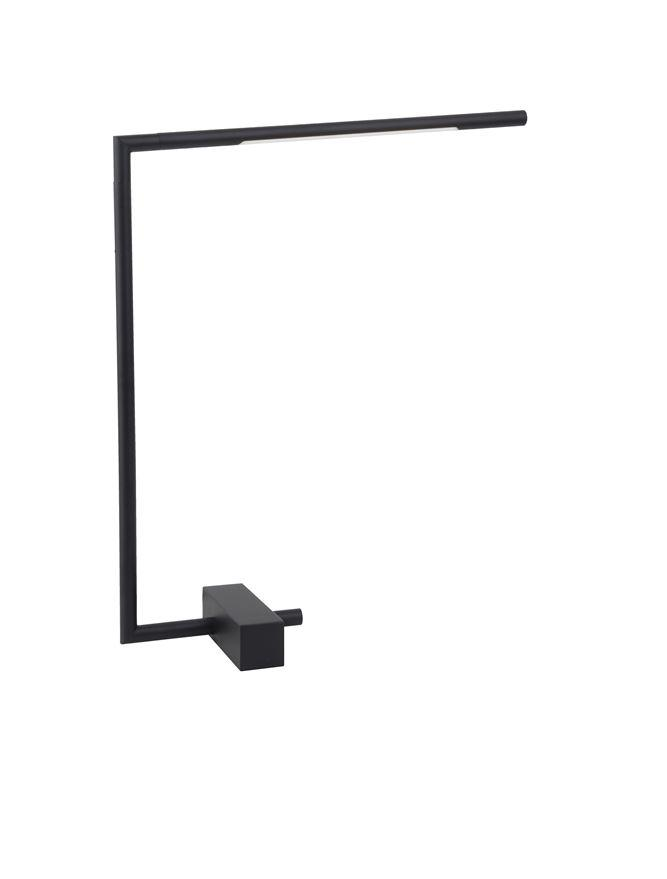 RAC Black Metal & Acrylic Tubular Adjustable Table Light - ID 10132