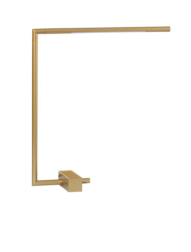 RAC Gold Metal & Acrylic Tubular Adjustable Table Light - ID 10105