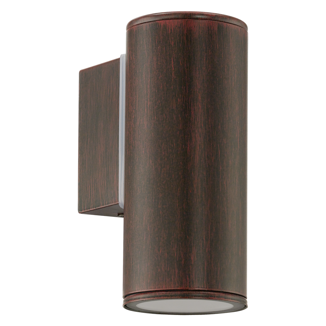 Brunswick Antique Brown Outdoor Down Wall Light - ID 8430