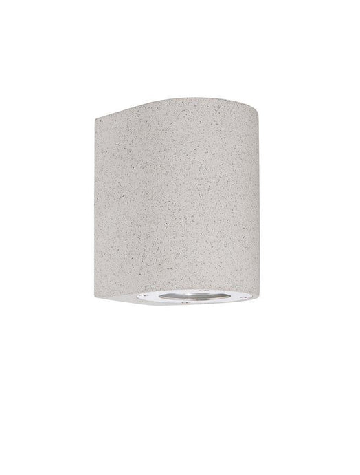 LID White Sandstone Outdoor Down Light - ID 10858