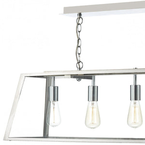 Academy Stainless Steel 5 Lights Pendant Light - London Lighting - 2