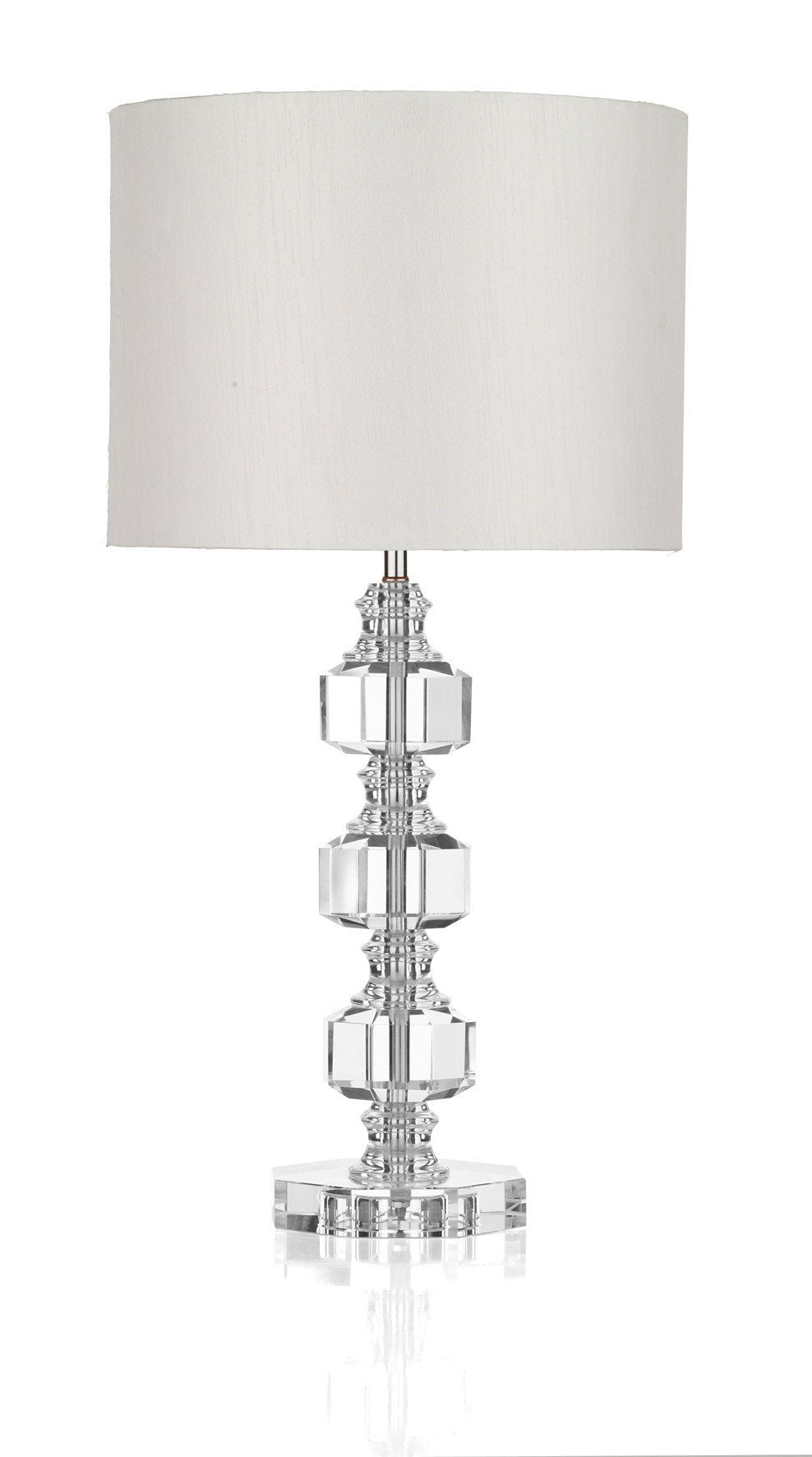 Acton Crystal Table Lamp - London Lighting - 1