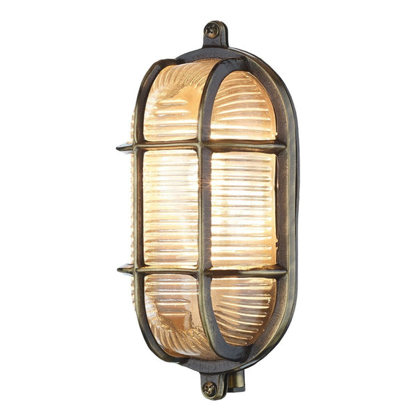 Admiral Small Oval Wall Light - London Lighting - 1