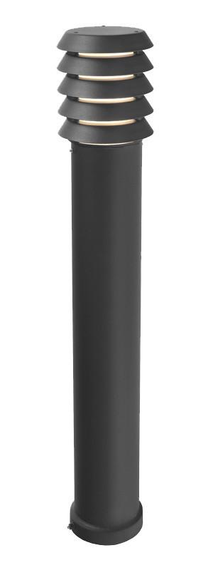 Alta Large Bollard Black - London Lighting - 1