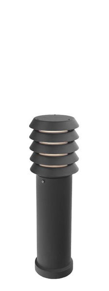 Alta Medium Bollard Black - London Lighting - 1