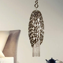 Canning Medium Suspension Pendant with LED in Base - ID 8193