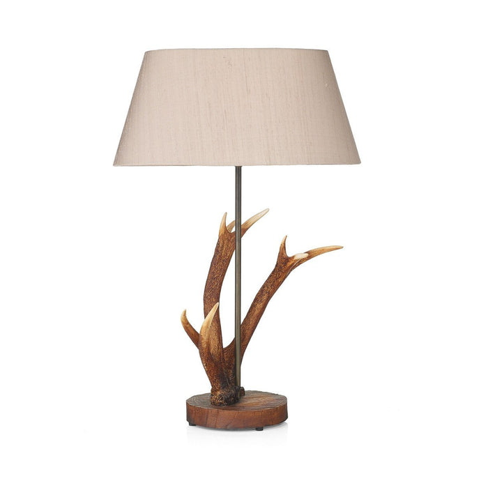 Antler Rustic Small Table Lamp - London Lighting - 1