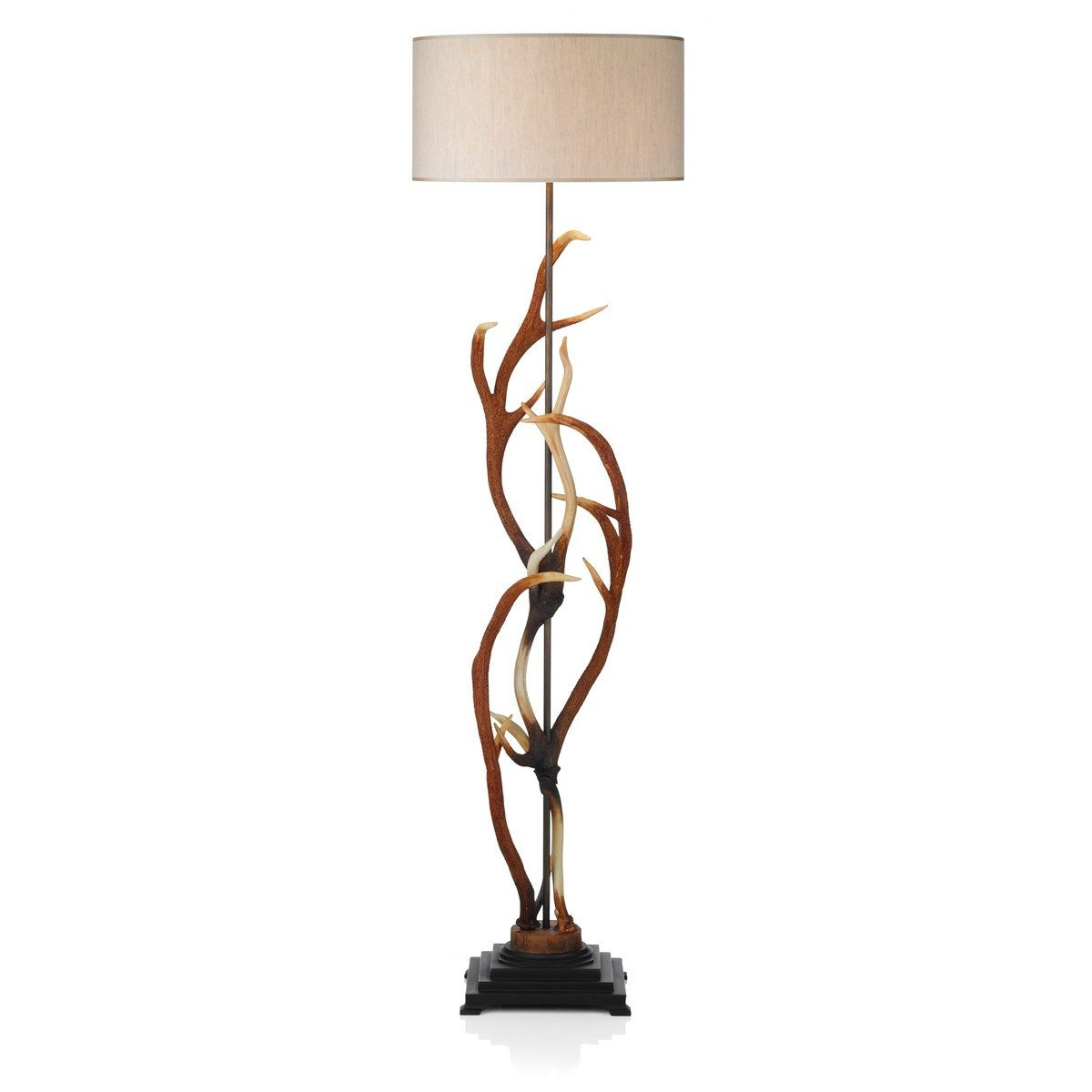 Antler Rustic Floor Lamp - London Lighting - 1