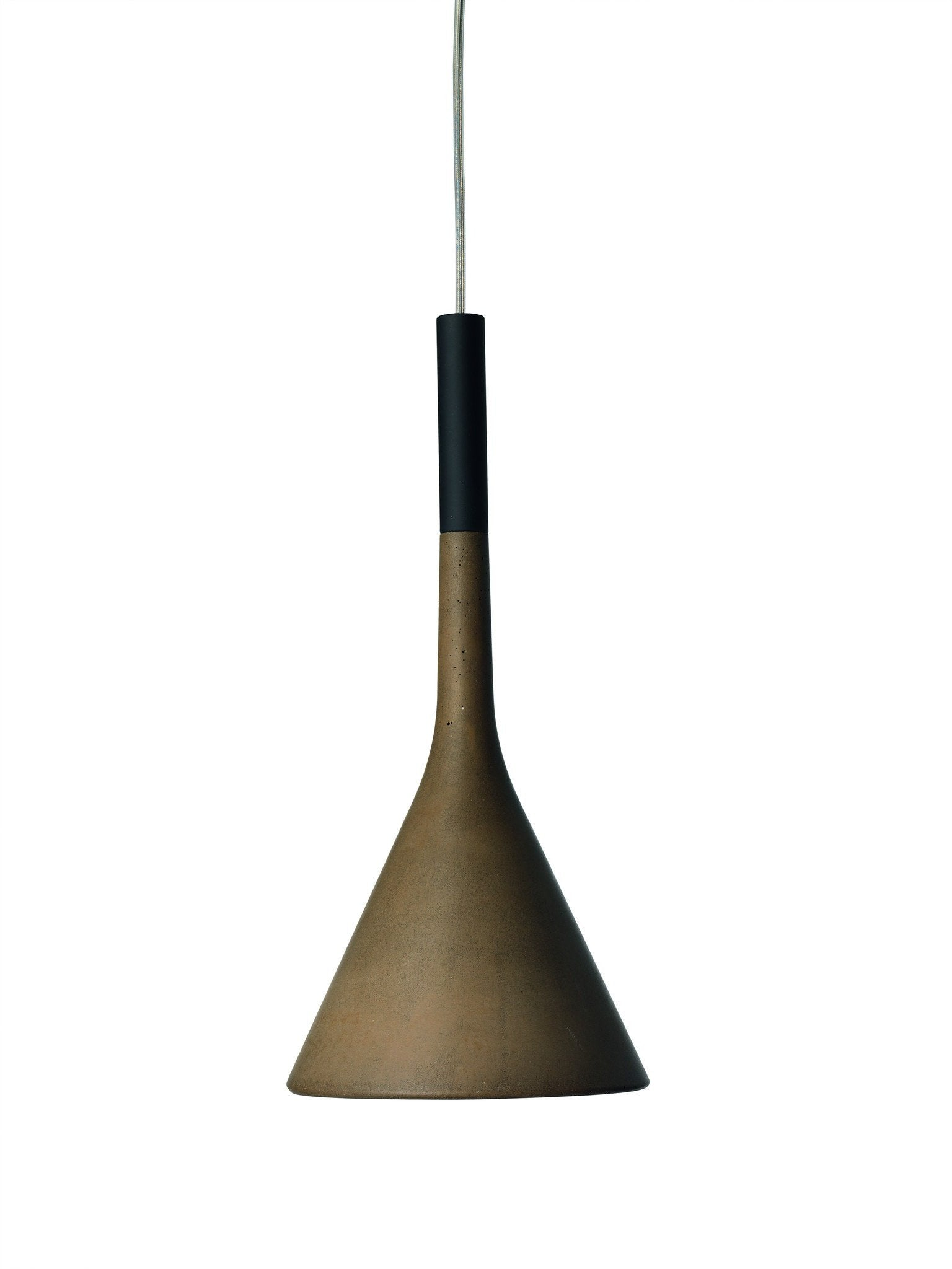 Foscarini Aplomb LED Pendant in Brown - London Lighting - 1