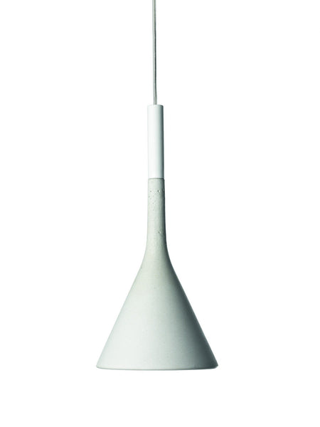 Foscarini Aplomb LED Pendant in White - London Lighting - 1