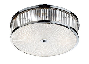 Aramis Chrome 3 Lamp Semi-Flush Ceiling Light - London Lighting - 1