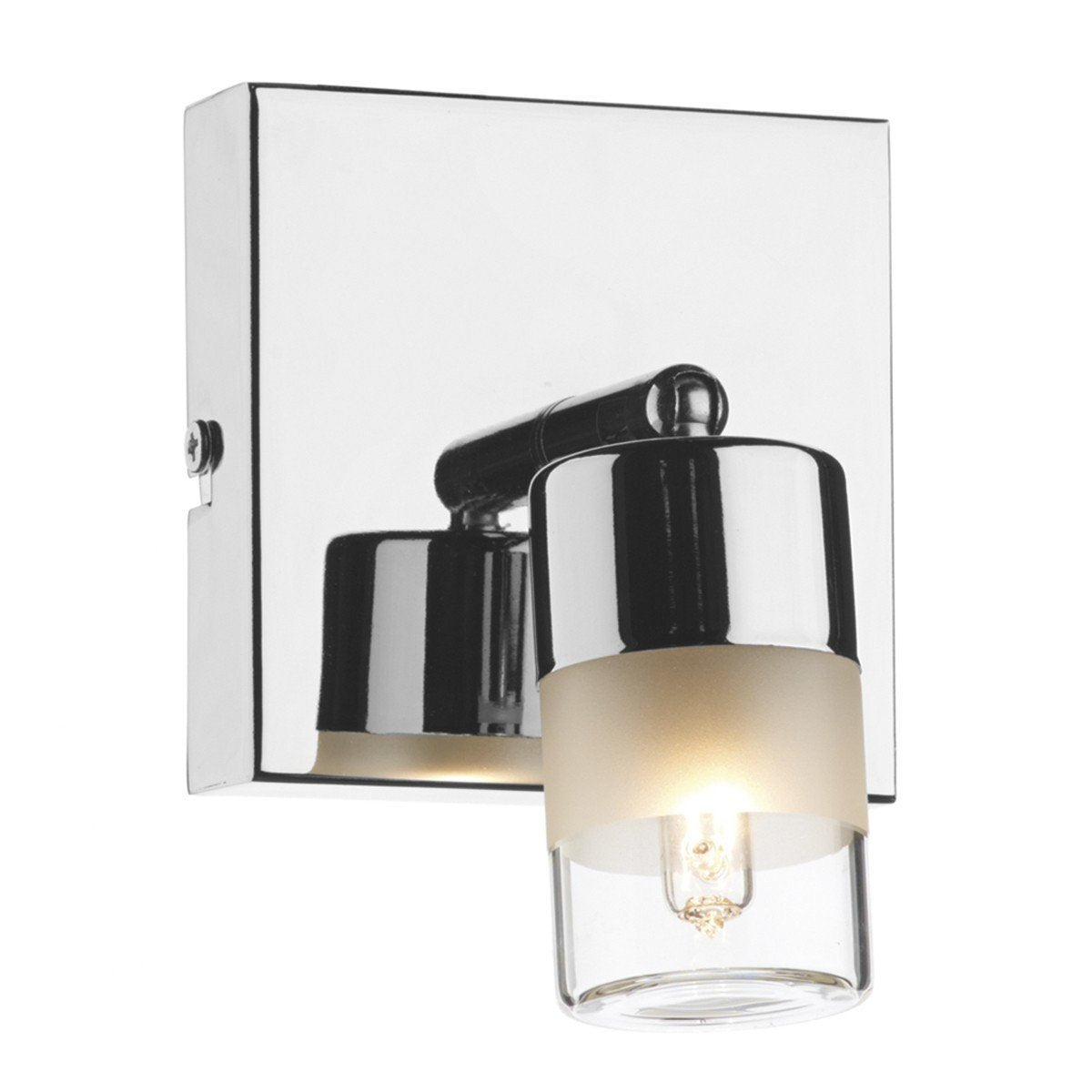 Artemis Polished Chrome 1 Light Wall Light - London Lighting - 1