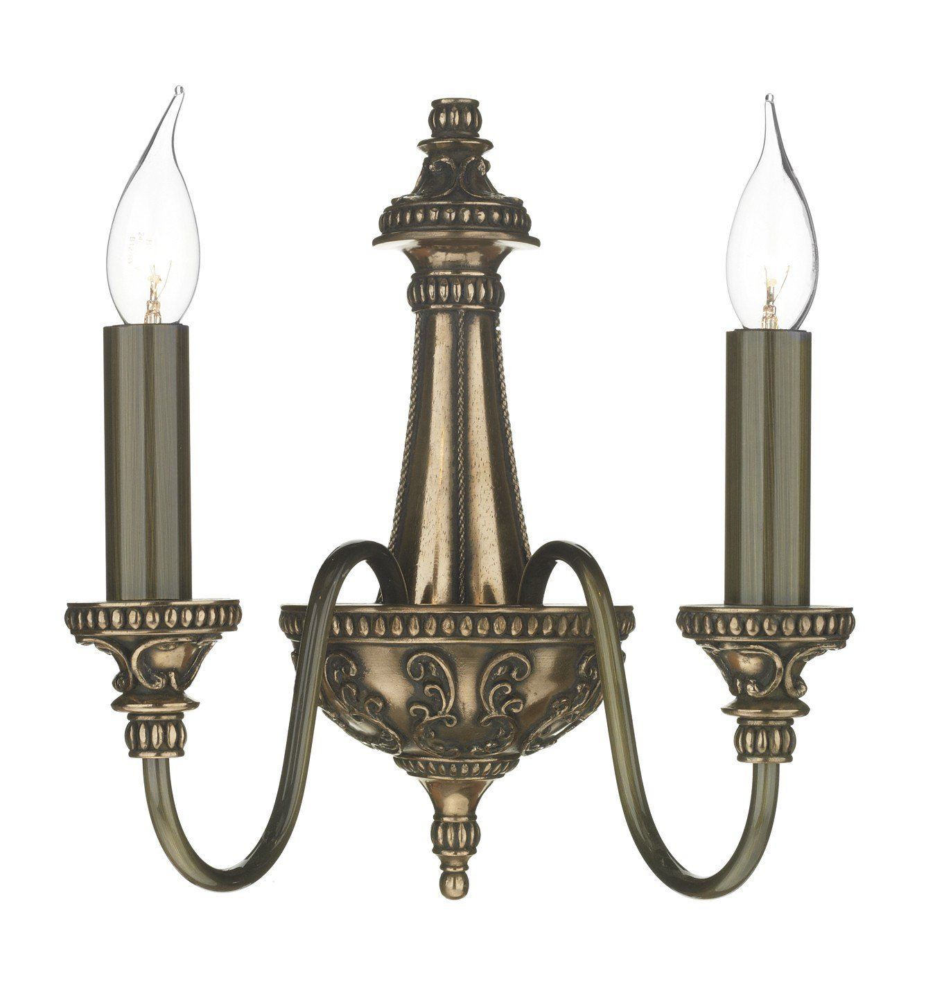 Bailey Bronze Wall Light - London Lighting - 1