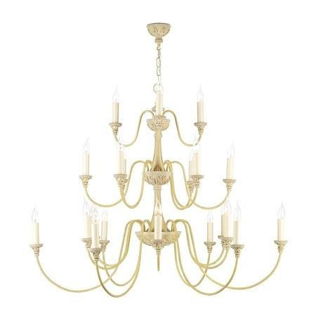 Bailey Antique Cream 21 Lights Pendant Light - London Lighting - 1