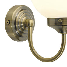 Barclay Antique Brass 1 Light Wall Bracket - London Lighting - 2
