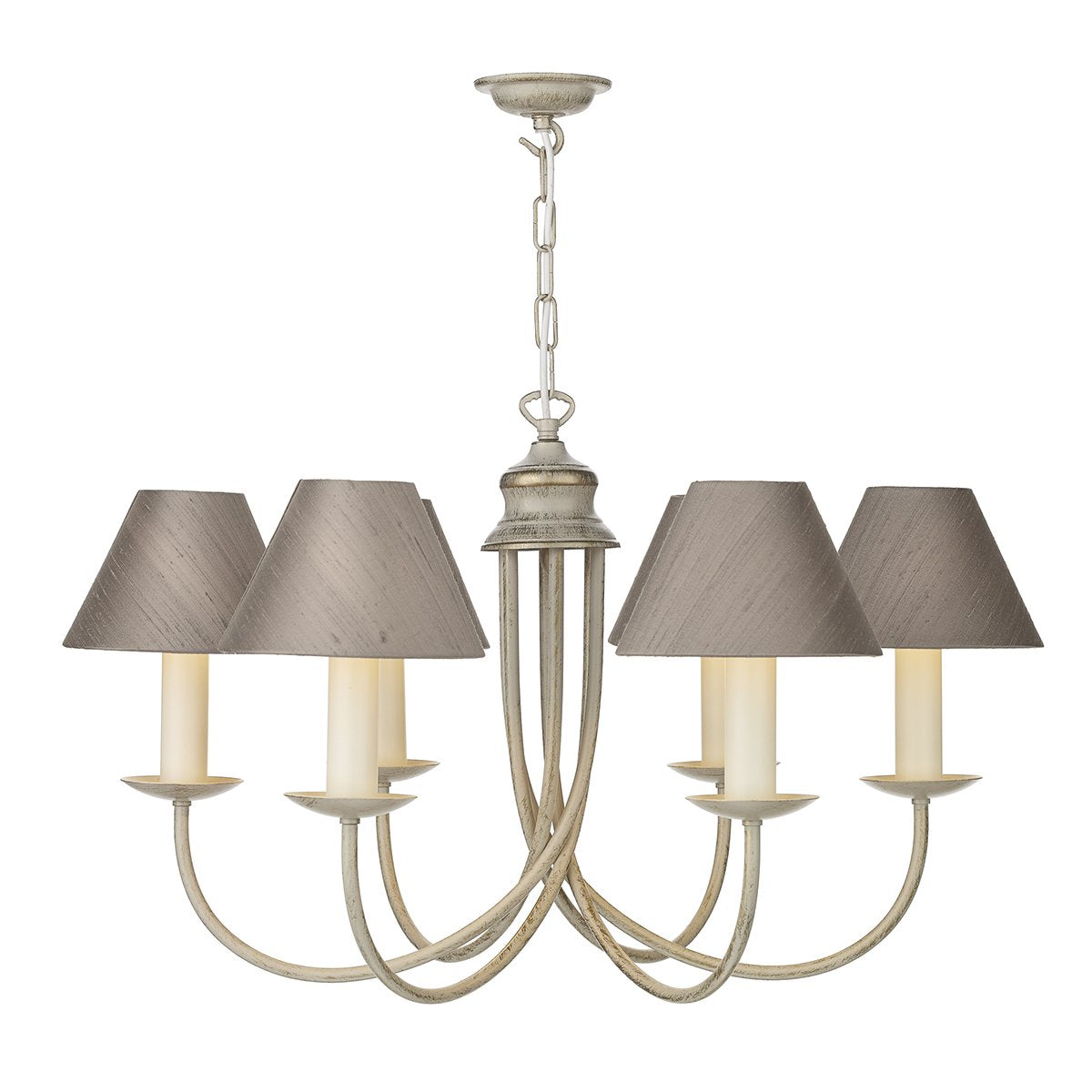 Harlington 6 Arm Wall Light In Cream Gold - ID 2240
