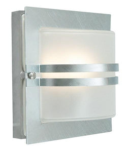 Bern Frosted Outdoor Wall Light - London Lighting - 2