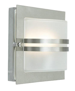 Bern Frosted Outdoor Wall Light - London Lighting - 3