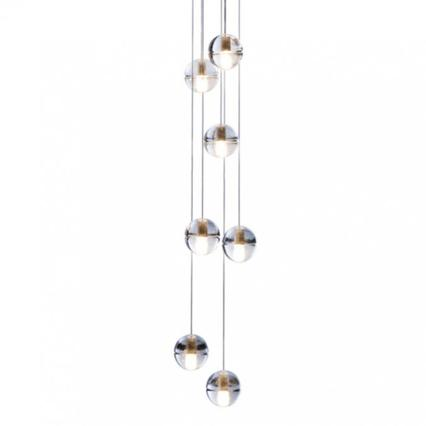 BOCCI 14.7 7 Lamp Pendant - London Lighting - 1