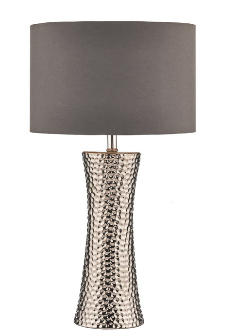 Bokara Table Lamp with Natural Cotton Shade - London Lighting - 1