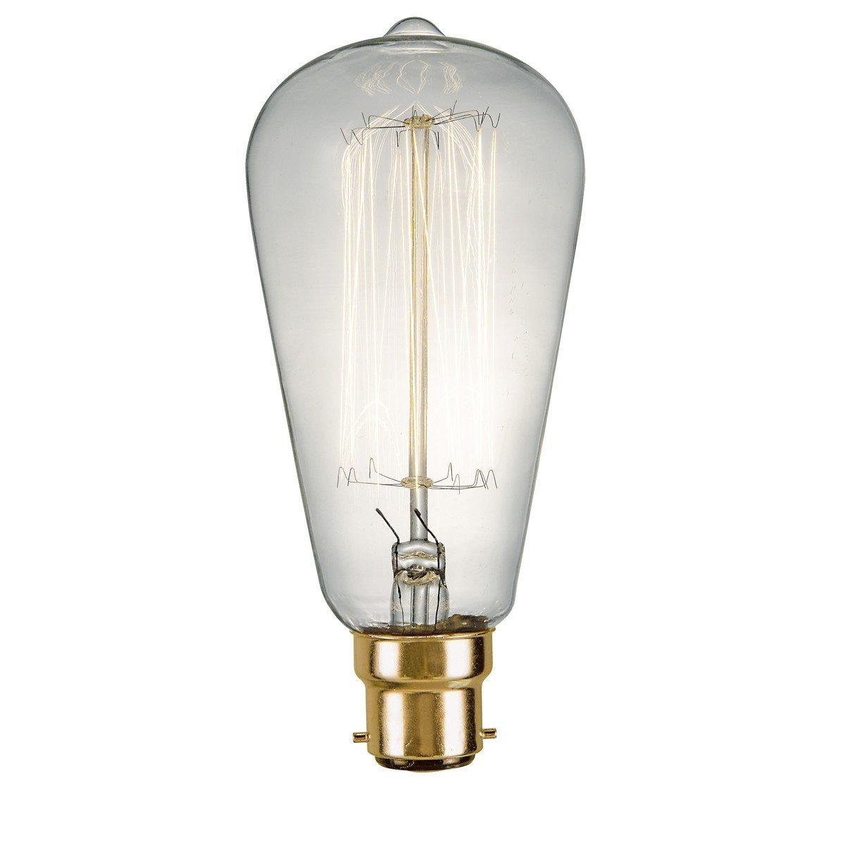 Rustika Vintage BC / B22 Lamp - London Lighting - 1