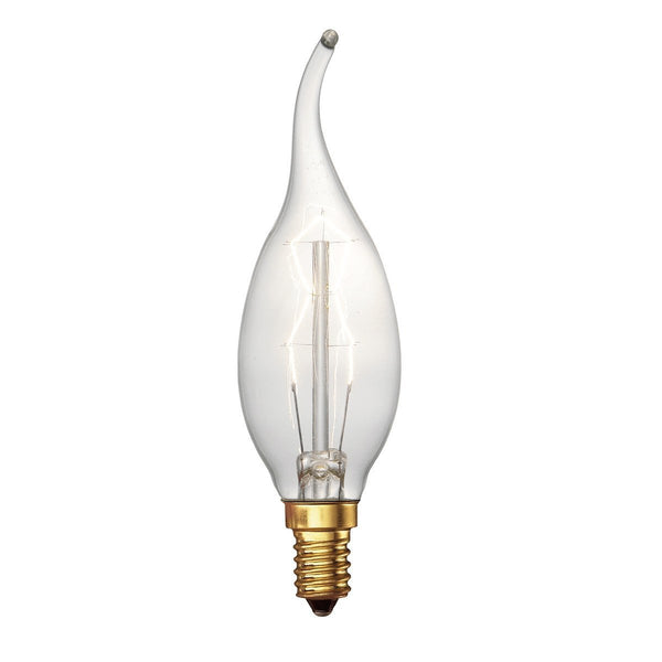 Coup De Vent Vintage Candle E14 Lamp - London Lighting - 1