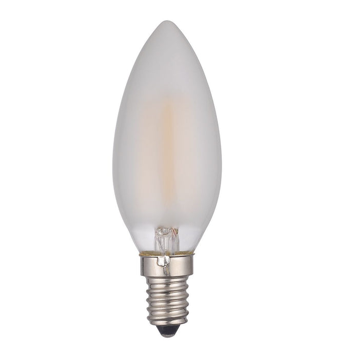 Opal Candle Lamp Warm White 4W LED E14 - ID 9714