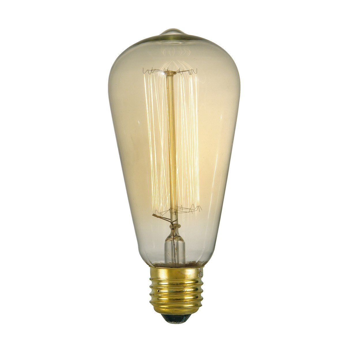Rustika Gold Effect Vintage E27 Lamp - London Lighting - 1