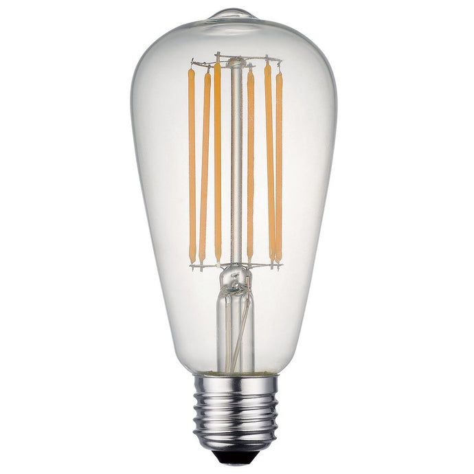Vintage Clear Filament Lamp Warm White 7W LED E27 - ID 6716