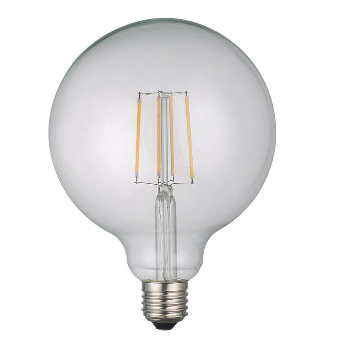 Medium Clear Globe Lamp Warm White 6W LED E27 - ID 9678