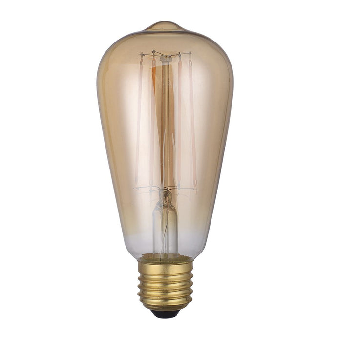 Vintage Strait Filament Lamp Warm White 4W LED E27 - ID 9683