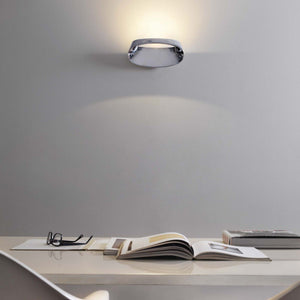 Fontana Bonnet Silver Wall Light
