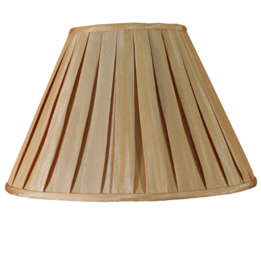 Box Pleat Shade Champagne - ID 9331