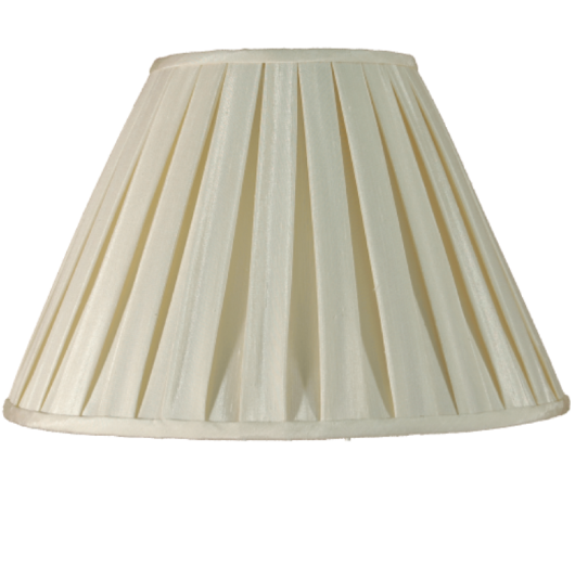 Box Pleat Shade Cream - ID 9330