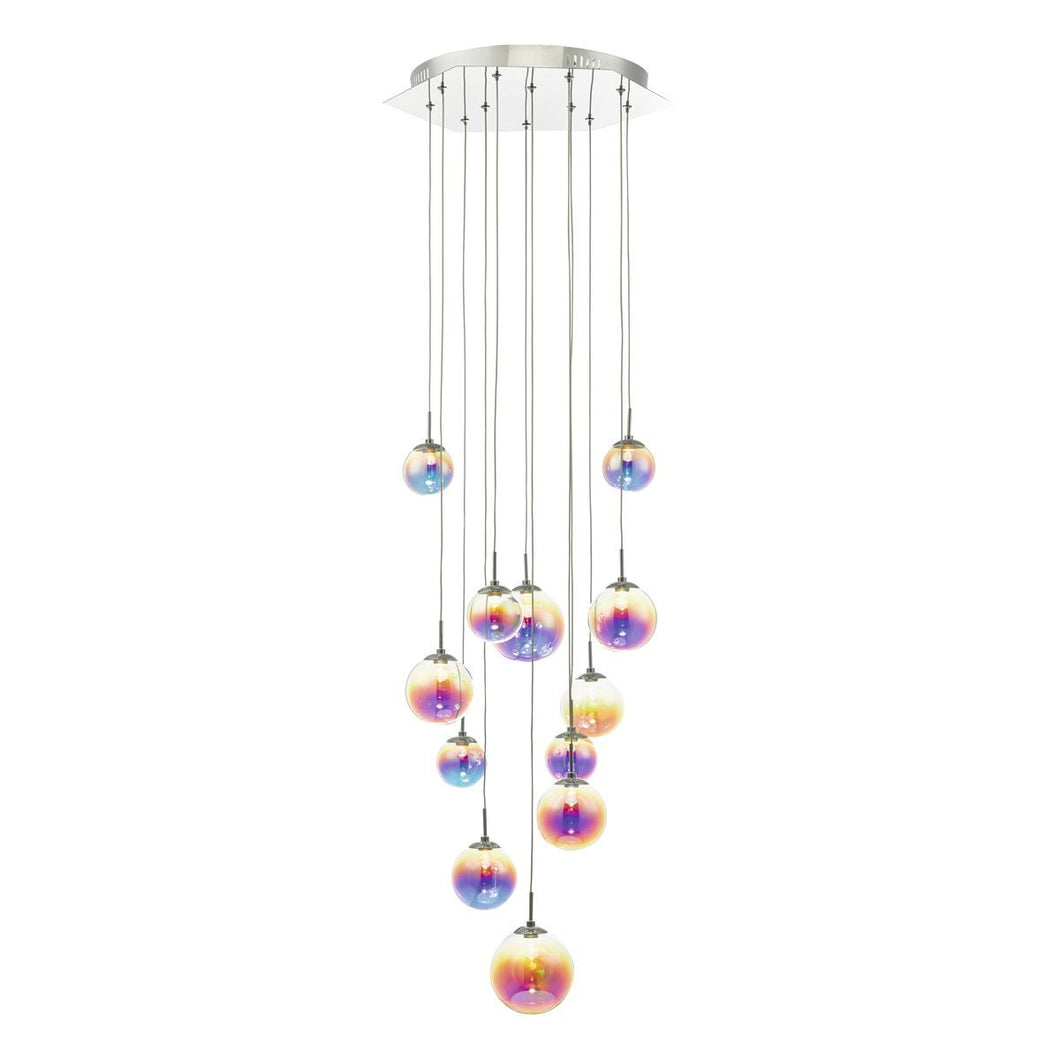 Multi-Colour Globe Multi-Pendant - ID 9314