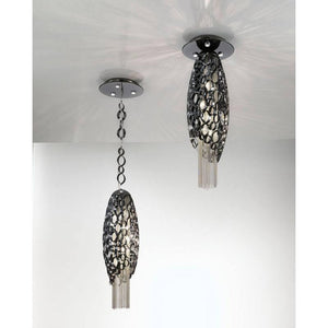 Canning Small Suspension Pendant with LED in Base - ID 8196