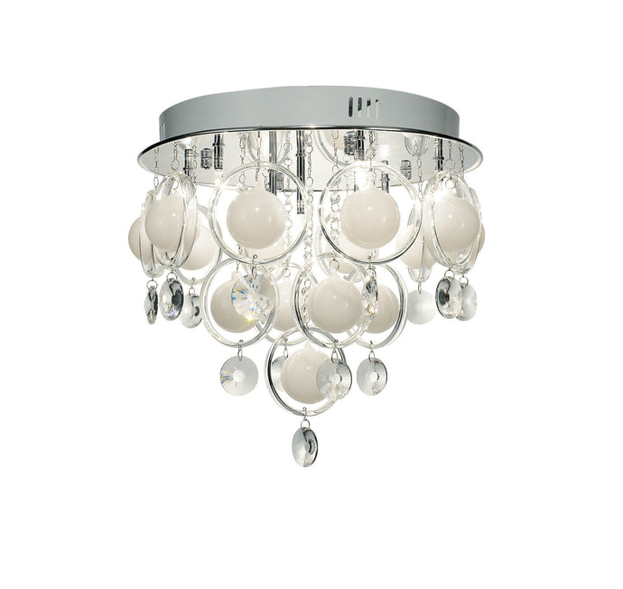 Cloud Chrome 9 Lamp Ceiling Light - London Lighting - 1