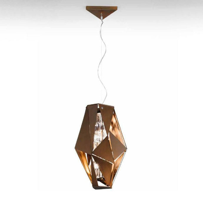 Crystal Rock Suspension Pendant Light